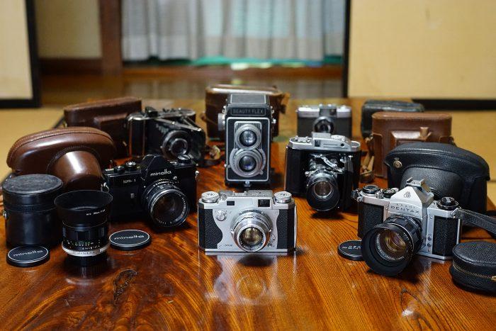 頂いたカメラたち