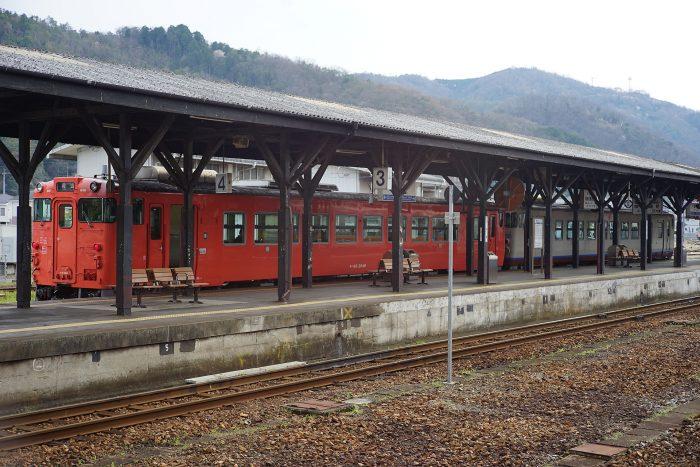 津山駅:キハ40形