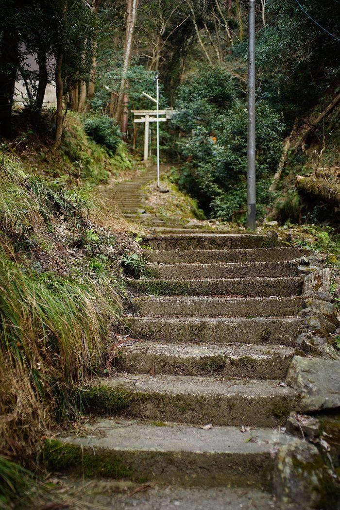 瀧宮神社/石段