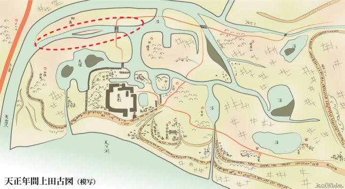 蛭沢川の新河道