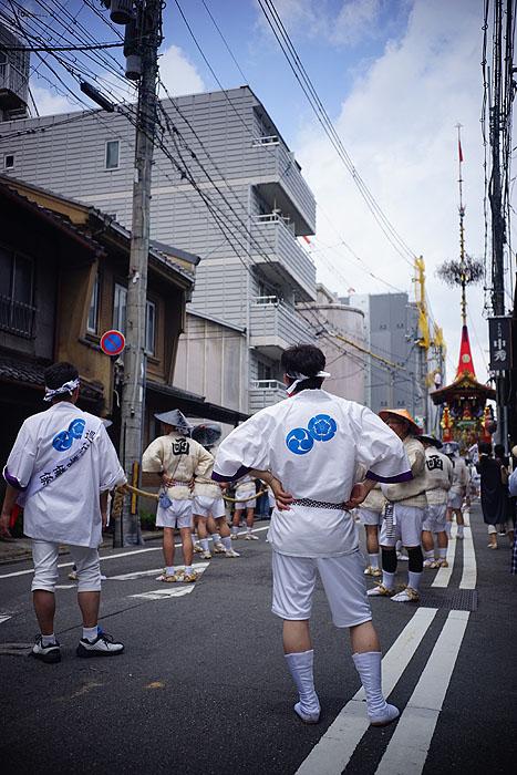 祇園祭前祭 山鉾巡行①