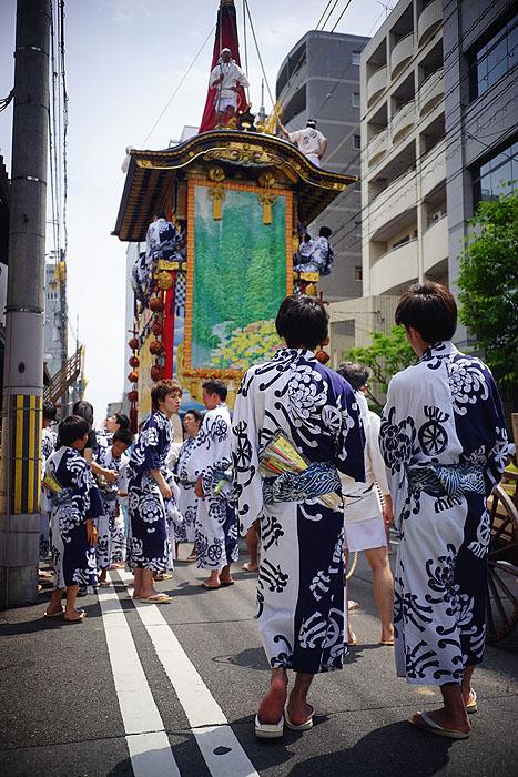 祇園祭前祭 山鉾巡行③