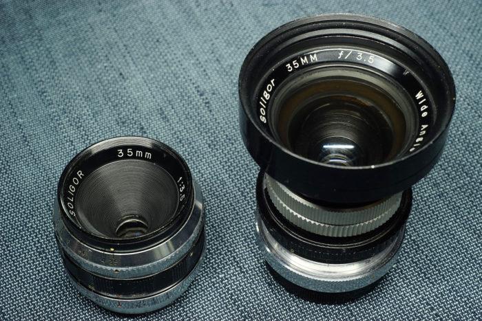 2つのソリゴール35mm f3.5①