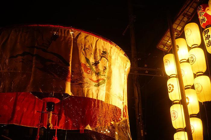 祇園祭前祭 綾傘鉾