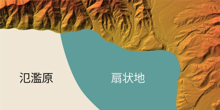 上田盆地の地質①