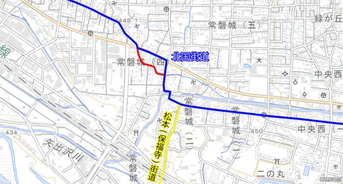 街道の変遷(江戸時代)