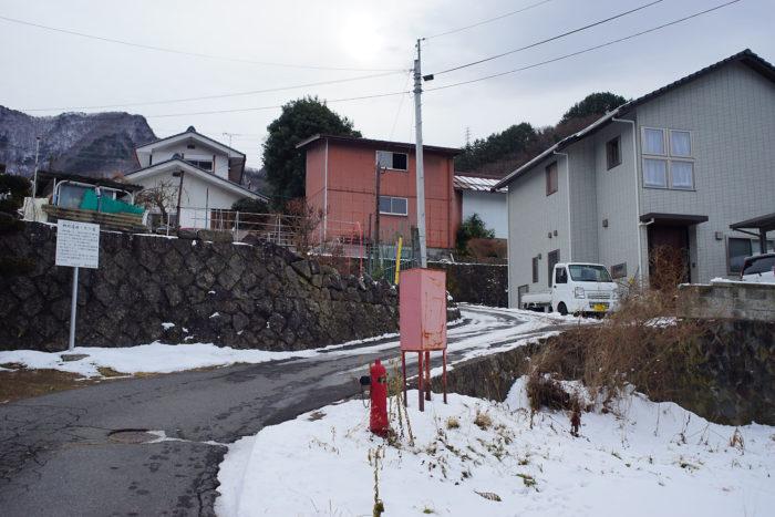 山家の屋敷跡②