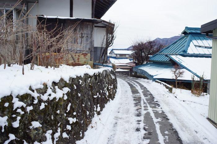 山家の屋敷跡⑤