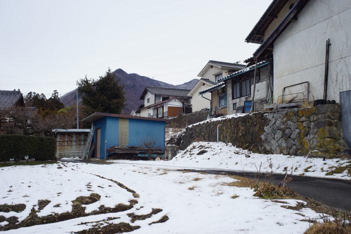 山家の屋敷跡⑫