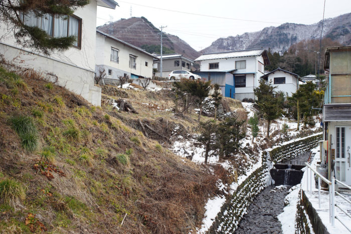 山家の屋敷跡⑬