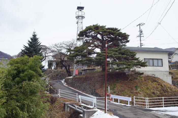 岩井堂川の対岸から