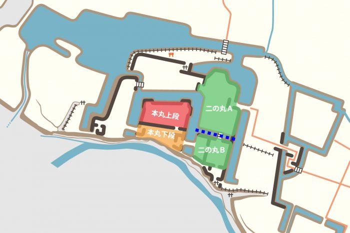 上田城復元案との比較②