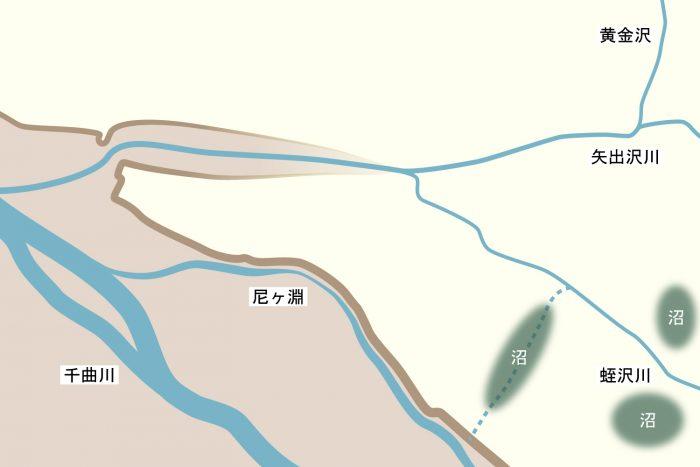 江戸時代の上田城との比較