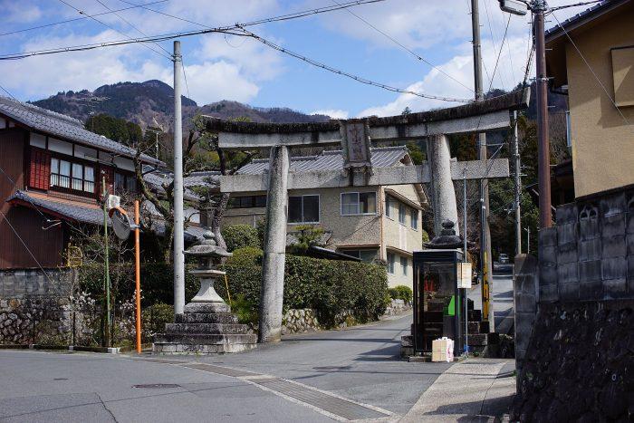 赤山禅院/入口