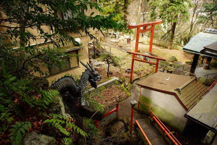 日天寺/お滝の龍