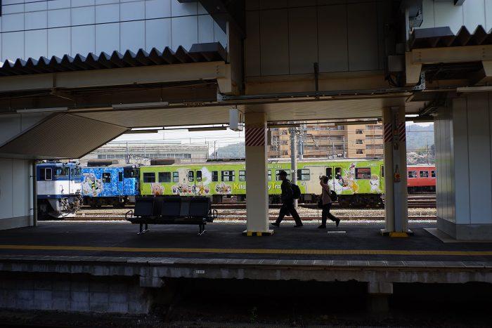 米子駅:鬼太郎トレイン
