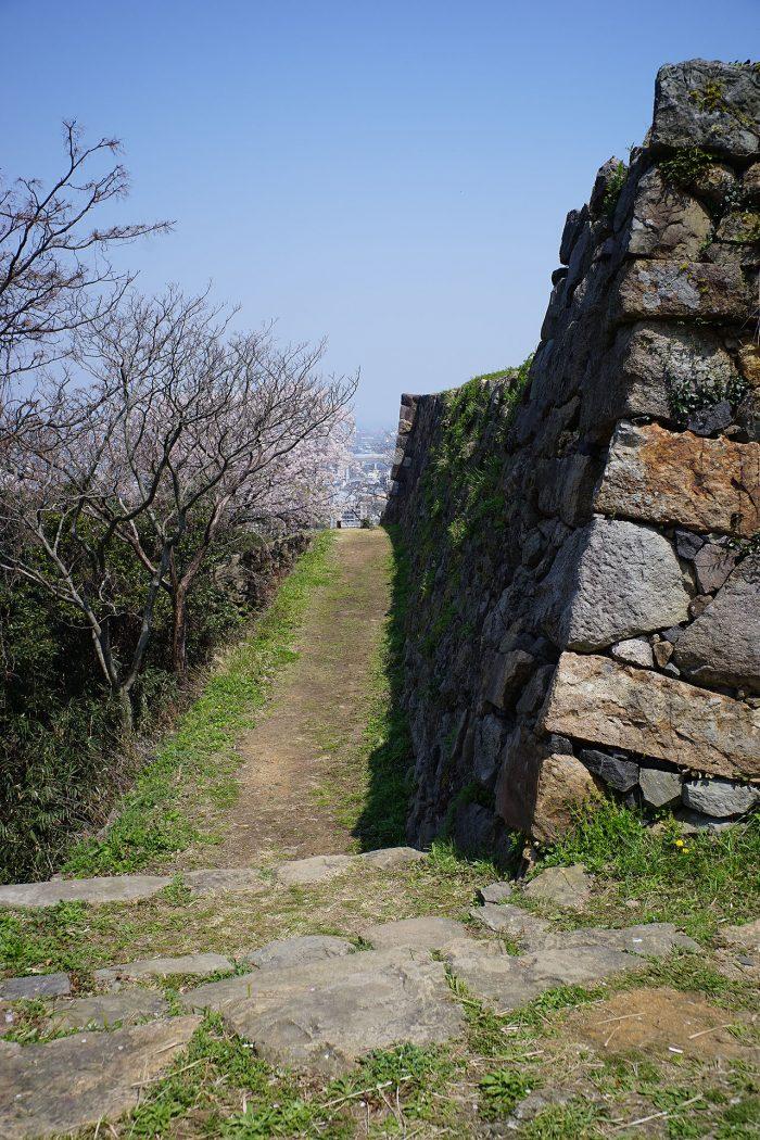 北側の通路