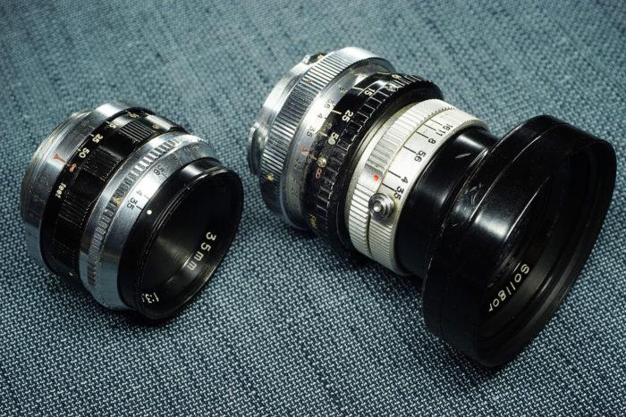 2つのソリゴール35mm f3.5②