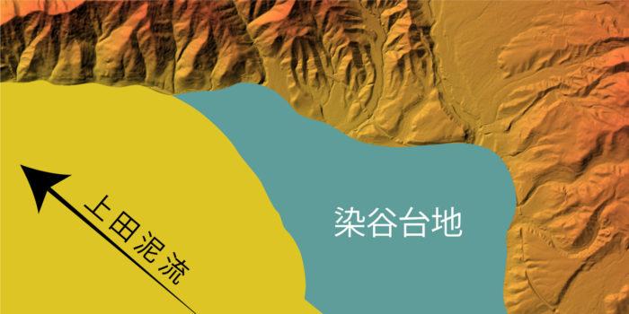 上田盆地の地質③