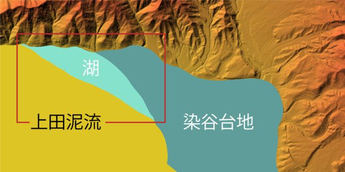 上田盆地の地質⑥