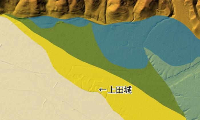 上田盆地の地質⑨