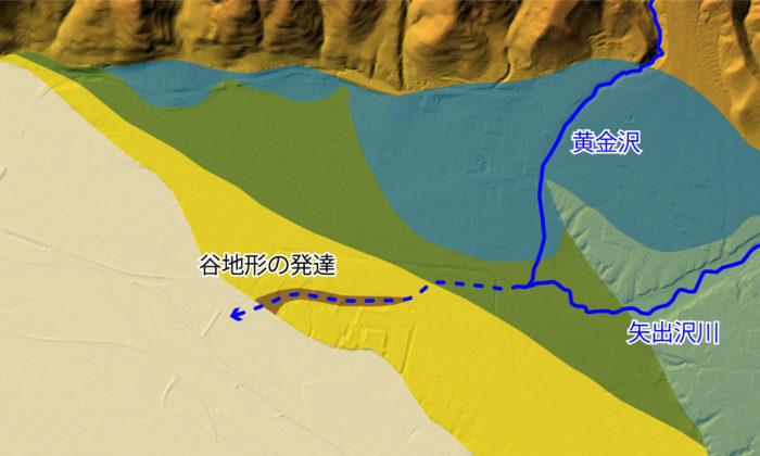 上田盆地の地質⑩