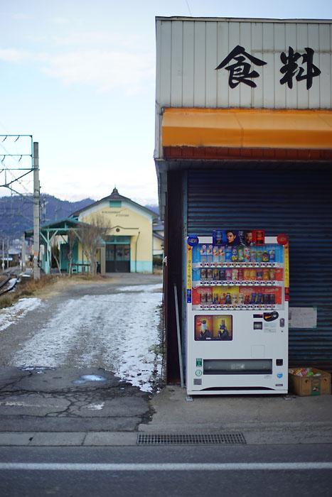 中塩田駅前
