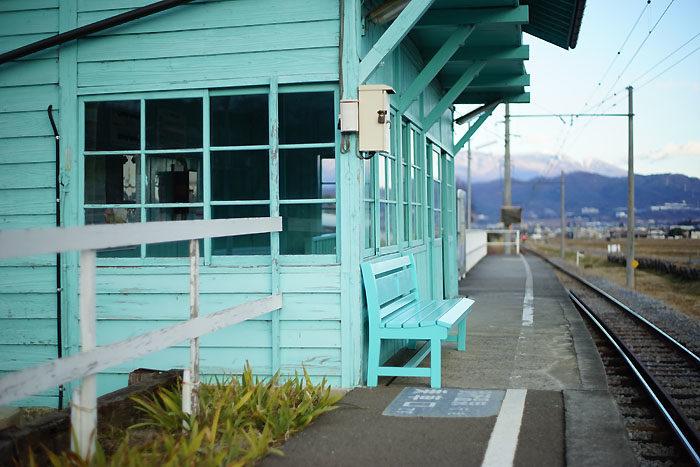 八木沢駅①