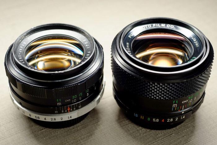 EBCフジノン 50mm f1.4(後期型)と