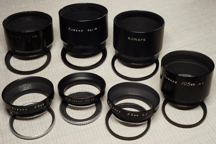 コムラー用レンズフードのシリーズフィルター対応