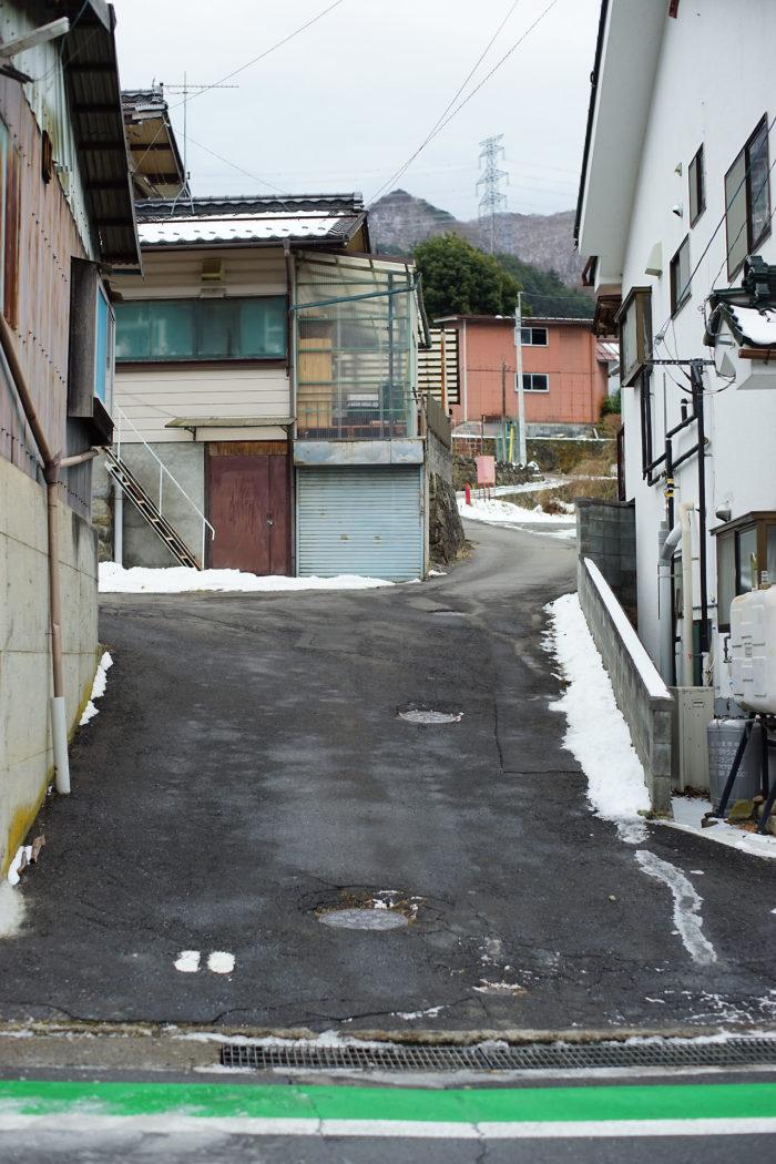 山家の屋敷跡①