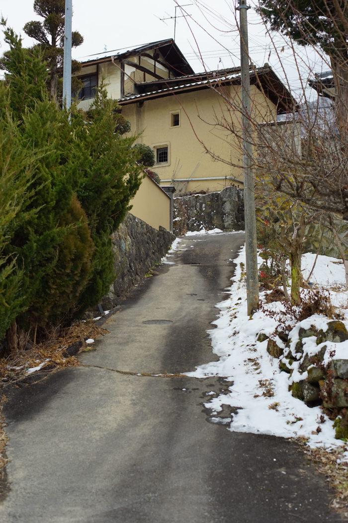 山家の屋敷跡⑱