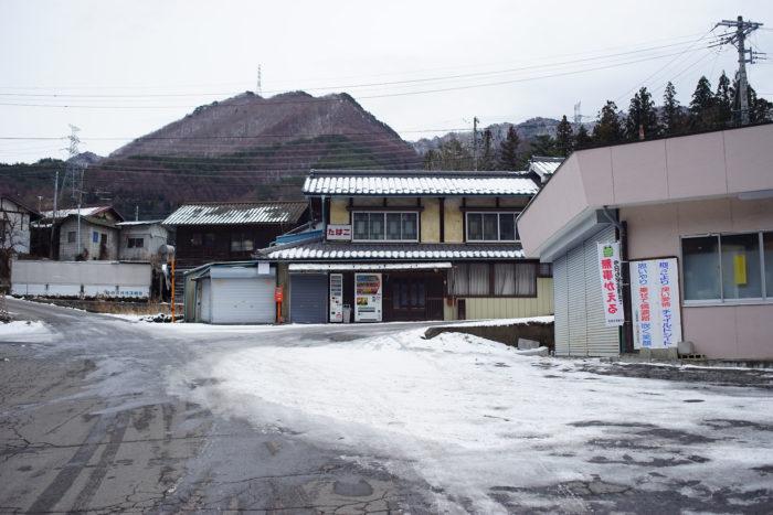 旧真田駅前